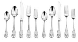 Cuisinart 20-Piece Flatware Set, French Rooster