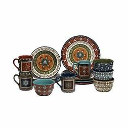 Certified International 89114 Monterrey 16 pc. Dinnerware Se