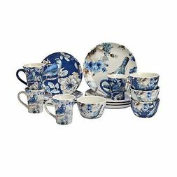 Certified International 89116 Indigold 16 pc. Dinnerware Set