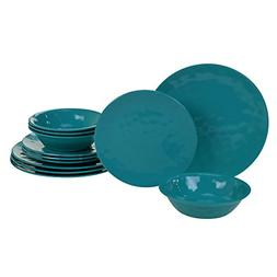 Certified International 89210RM Melamine 12 pc Dinnerware Se