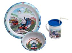 Thomas & Friends - 3 Piece Dinnerware Set- Pecoware
