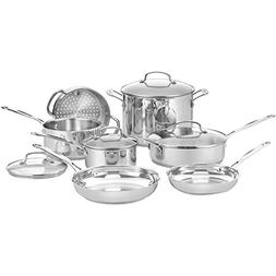Cuisinart® Chef's Classic 11-pc. Stainless Steel Cookwar