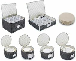 Complete Dinnerware Storage Set Best Protection for Storing
