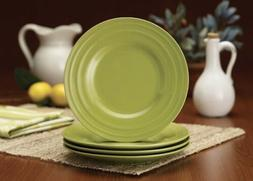 Rachael Ray Dinnerware Double Ridge 4-Piece Stoneware Salad