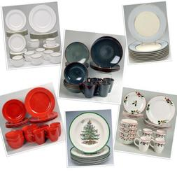 Dinnerware Sets and Single Replacements Several Styles Types