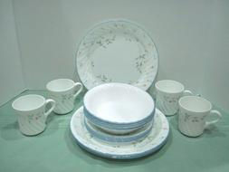 Corelle ENGLISH MEADOW Dinnerware Set  ~ 16 Pc. Service for