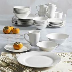 Gibson Home Everyday Round 40-Piece Expanded Dinnerware Set
