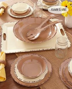 country farmhouse mix and match cream