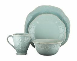 Lenox French Perle Ice Blue 4 Pc Place Setting
