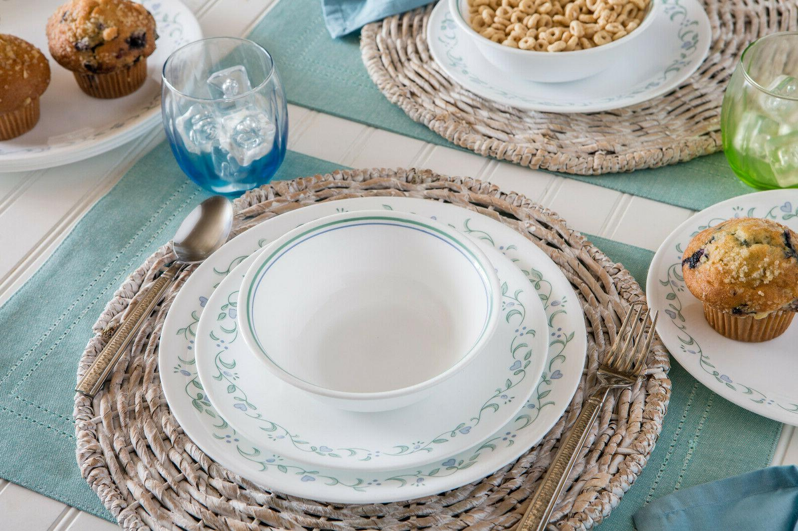 16 Piece Dinnerware Set Lightweight