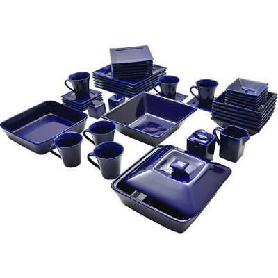 45-Piece For Plates Dinning