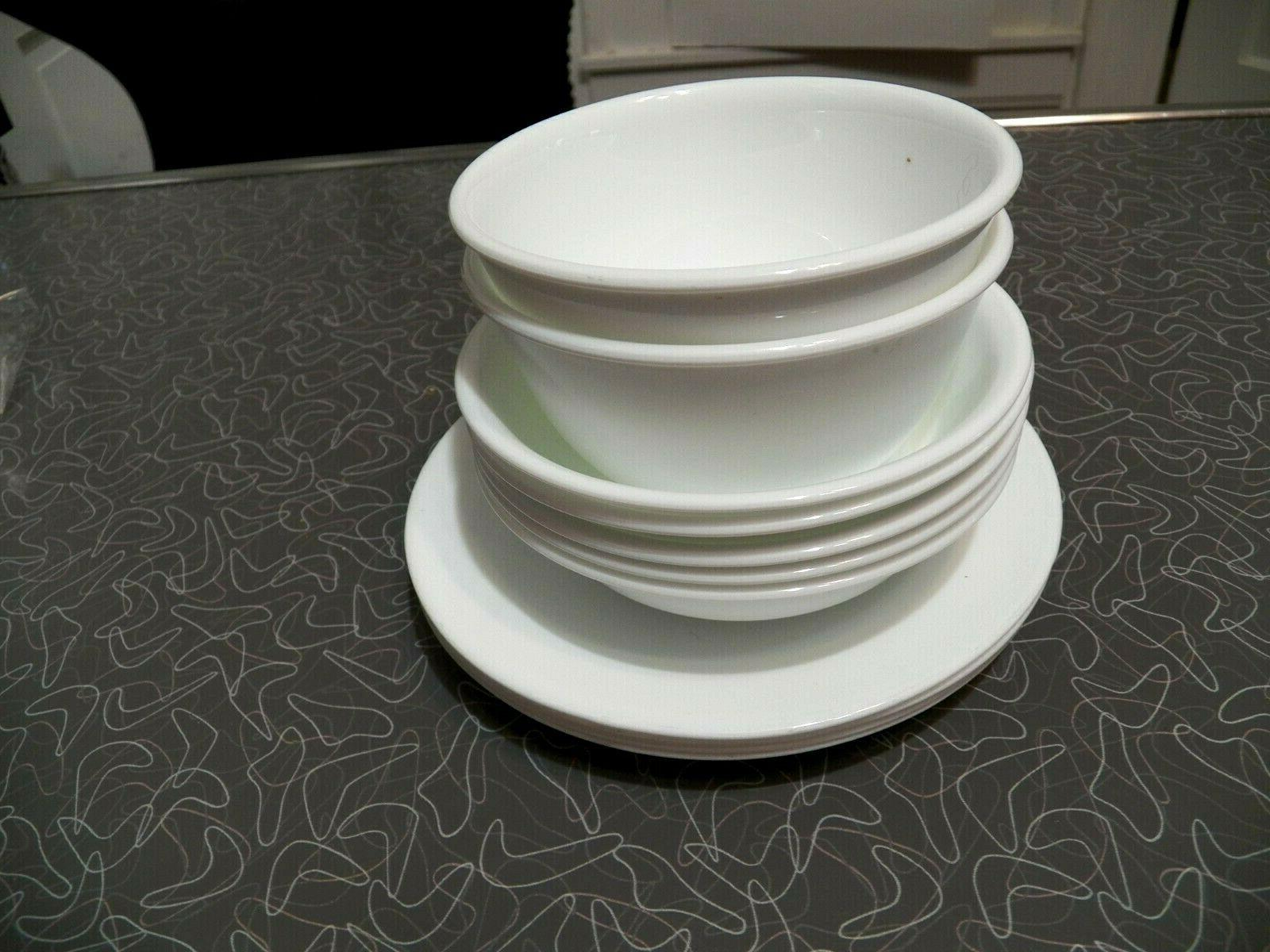 9 WINTER FROST CORELLE DINNERWARE SOUP/PASTA BOWLS COUPE