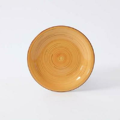12 Piece Plates Kitchen Dinner Bowls Assorted Colors
