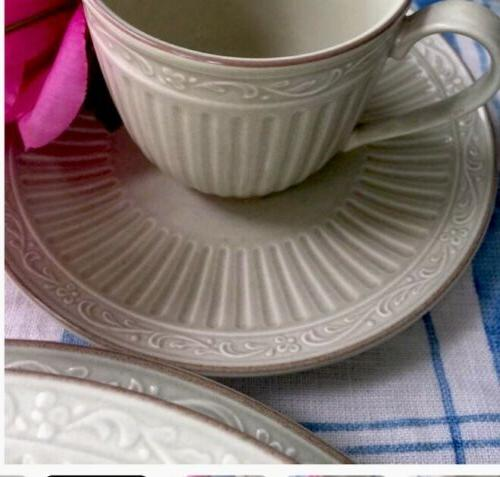Mikasa Dinnerware For 6, Green, Mystic, Pieces