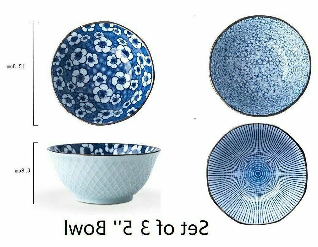 Japanese Crockery Mixed Bowls Plates Dinnerware Serving