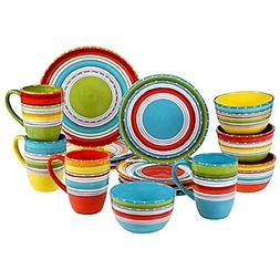 Certified International Mariachi 16-Piece Dinnerware Set, Mu