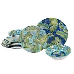 Certified International Tropicana Melamine 12 pc Dinnerware