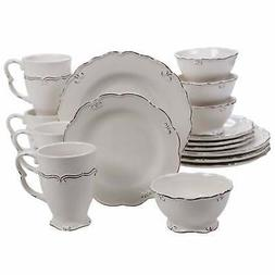 Certified International Vintage 16-piece Dinnerware Set,